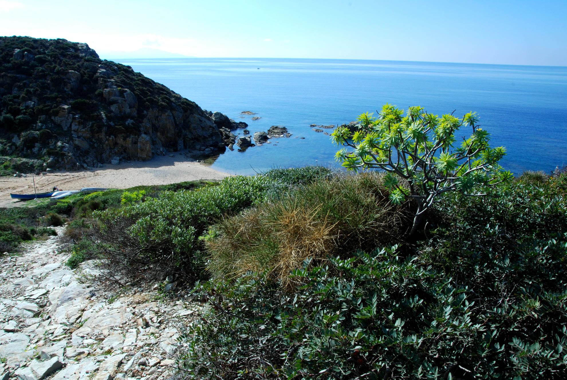 La spiaggetta di Portu Is Cannisonis