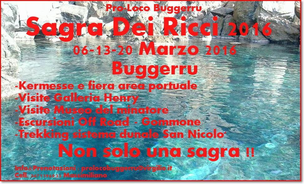 Sagra dei Ricci 2016 a Buggerru