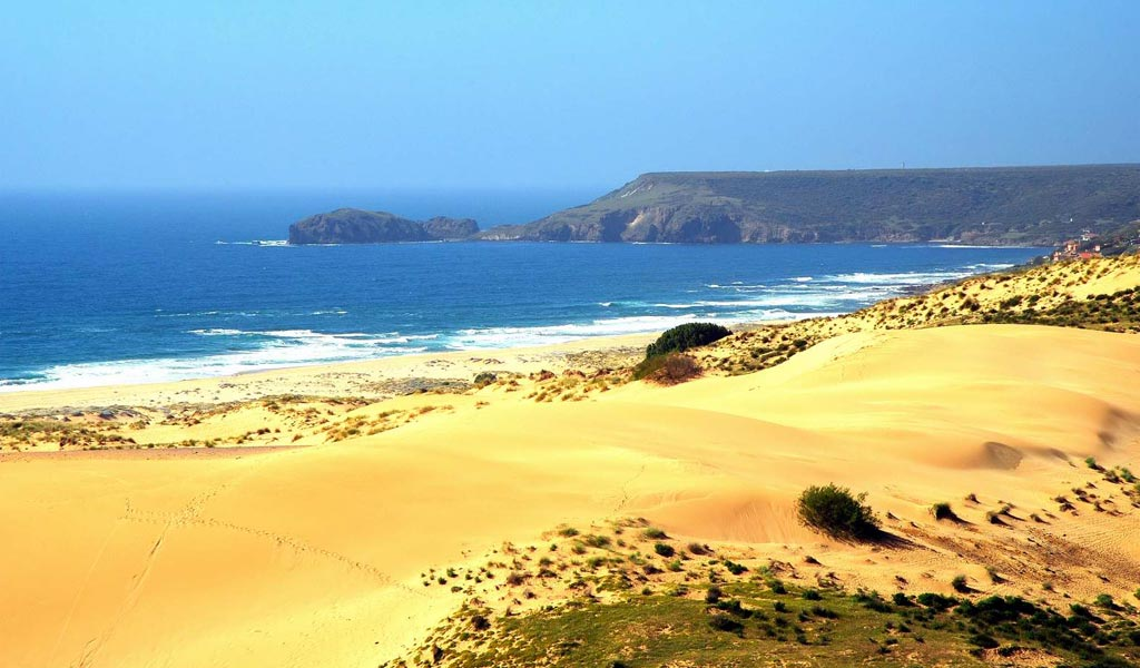 Visitare le dune di sabbia di Torre dei Corsari
