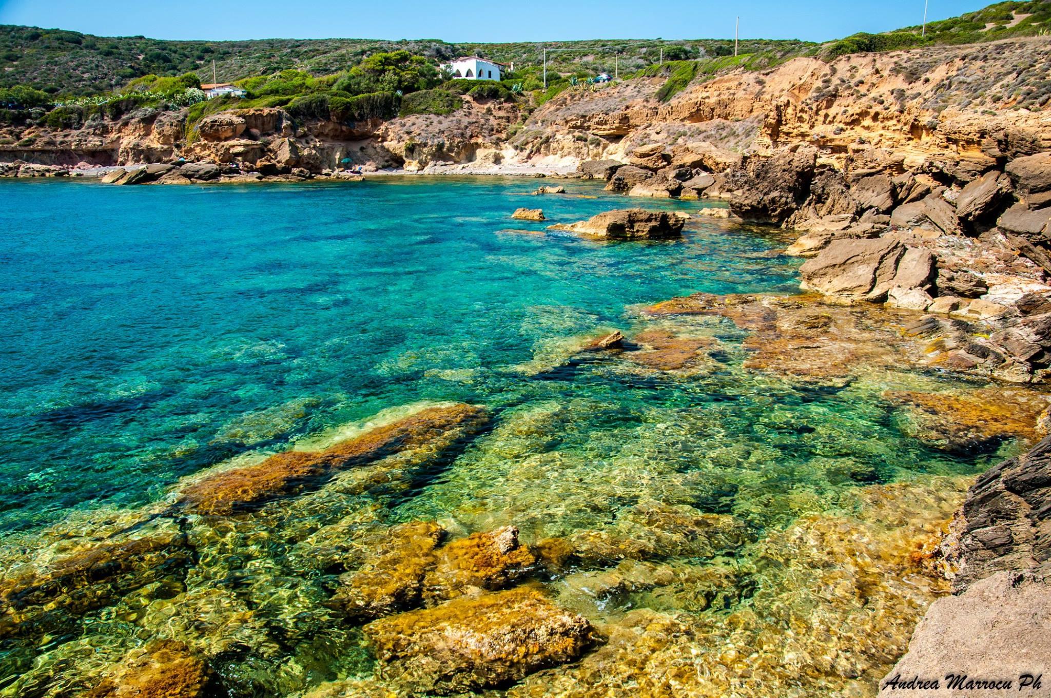 (Italiano) La spiaggia di S'enna 'e S'arca