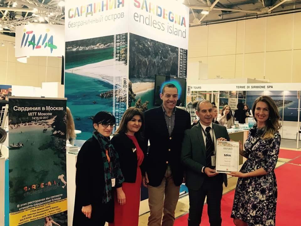 Le spiagge sarde sono le più belle d'Europa: prestigioso riconoscimento alla Fiera del turismo di Mosca
