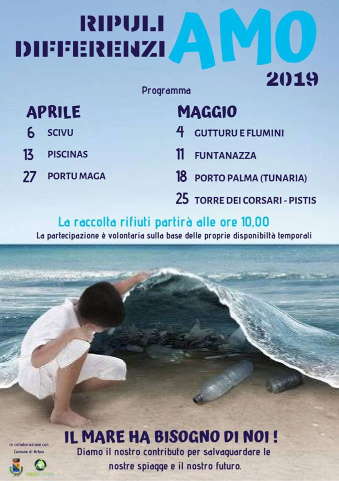 RipuliAMO e DifferenziAMO, una raccolta rifiuti volontaria in Costa Verde