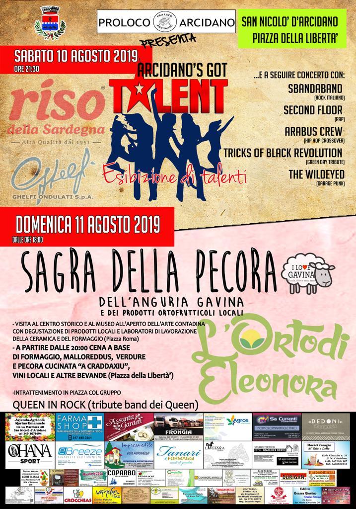 (Italiano) San Nicolò d'Arcidano, due giorni di musica ed eventi