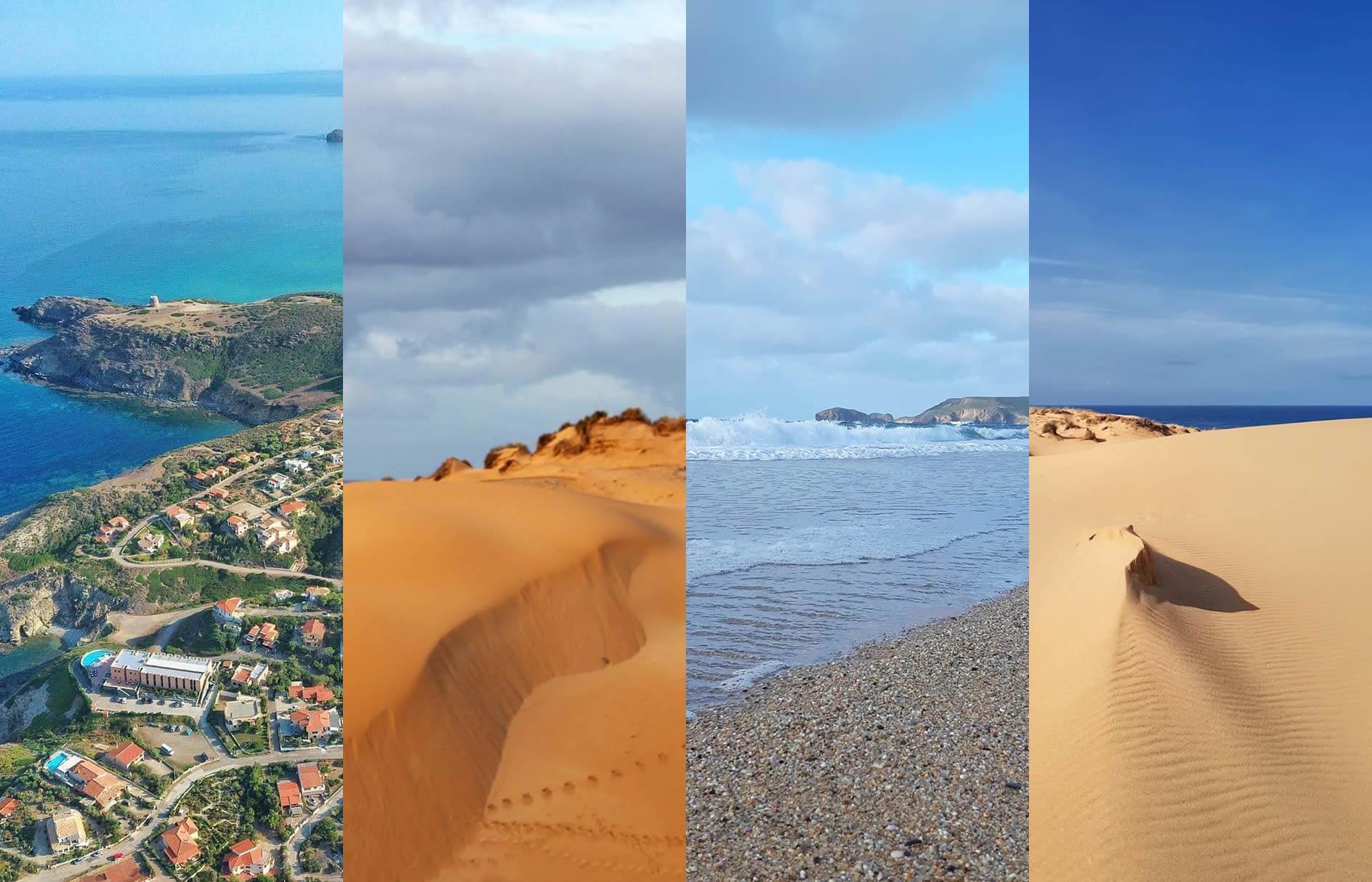 Torre dei Corsari, lo spettacolo delle dune e del mare anche in Inverno