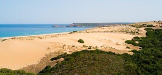 Costa Verde, mare e dune desertiche in Sardegna